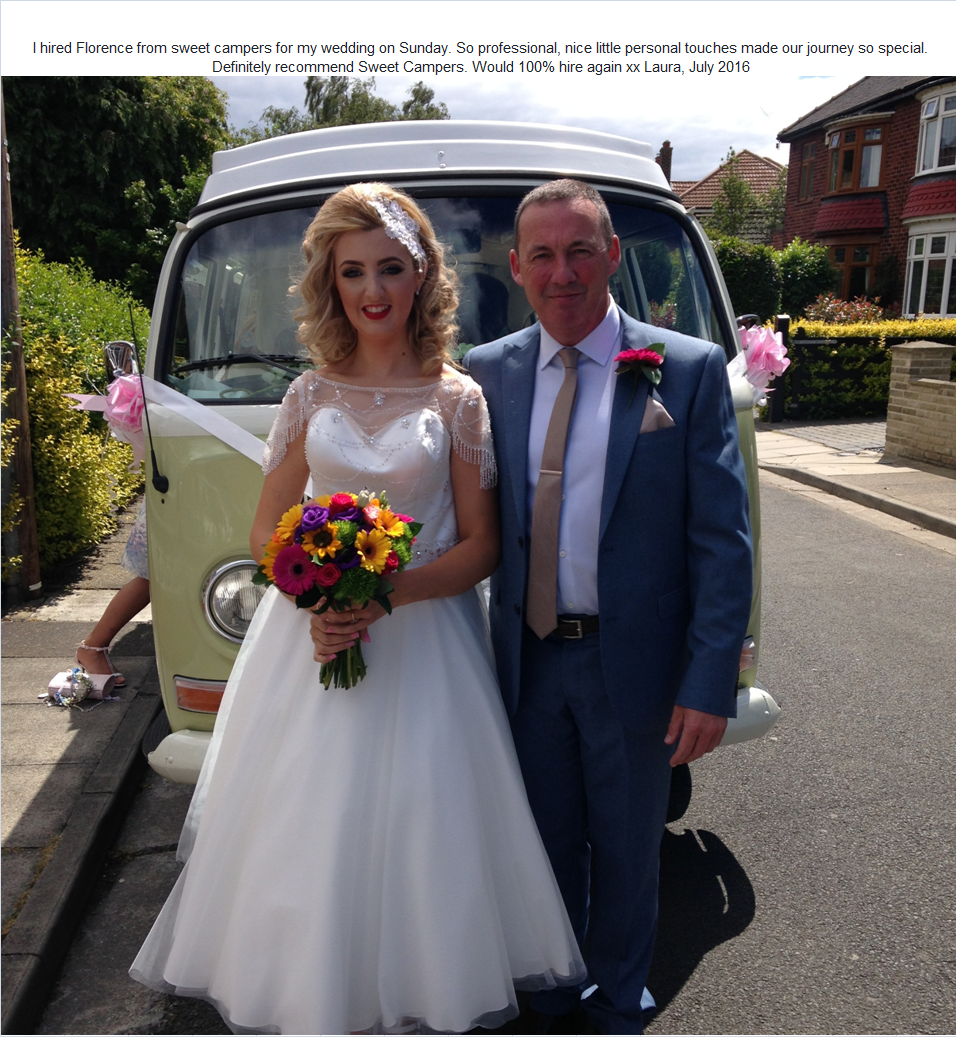 Vw wedding car Middlesbrough