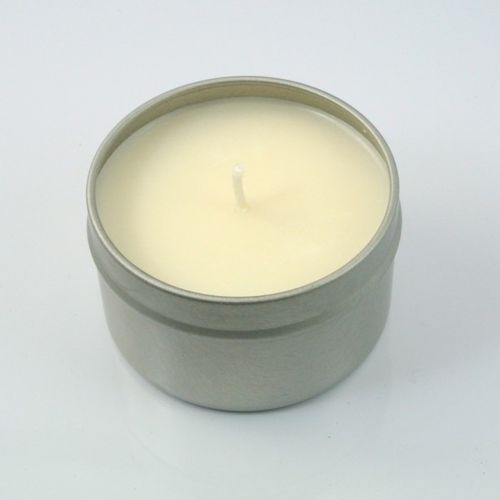 Lavender Spa soy candle tin
