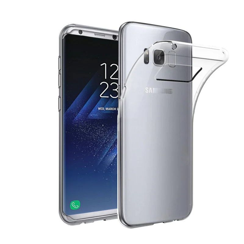 Samsung Galaxy S8 - Ultra thin 0.3mm Gel TPU transparant Case hoesje