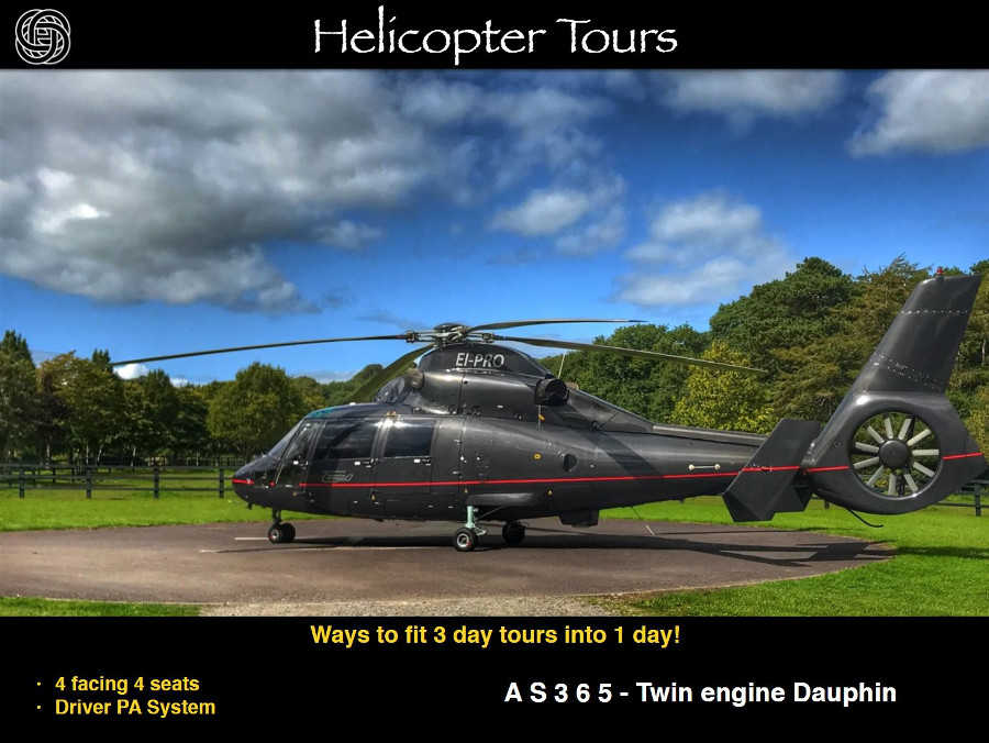 Helicopter Tour of Ireland