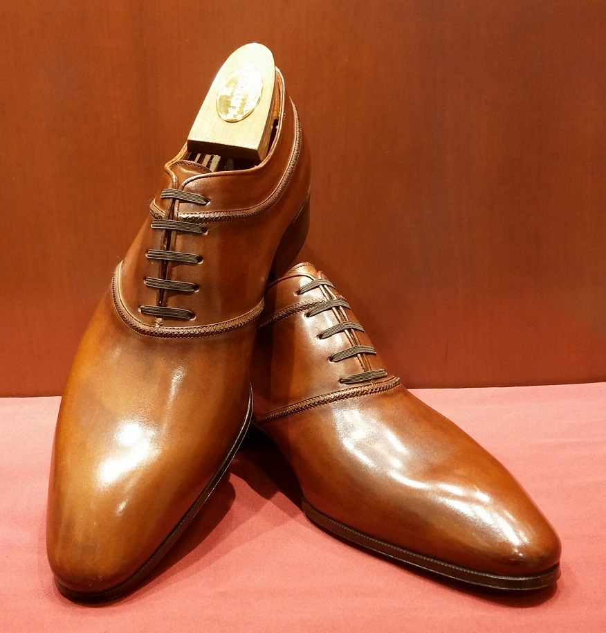 Lace-up Model 6M690 Hazel Brown