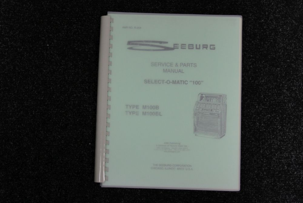 "Seeburg - Service & Parts Manual - select-o-matic ""100"""