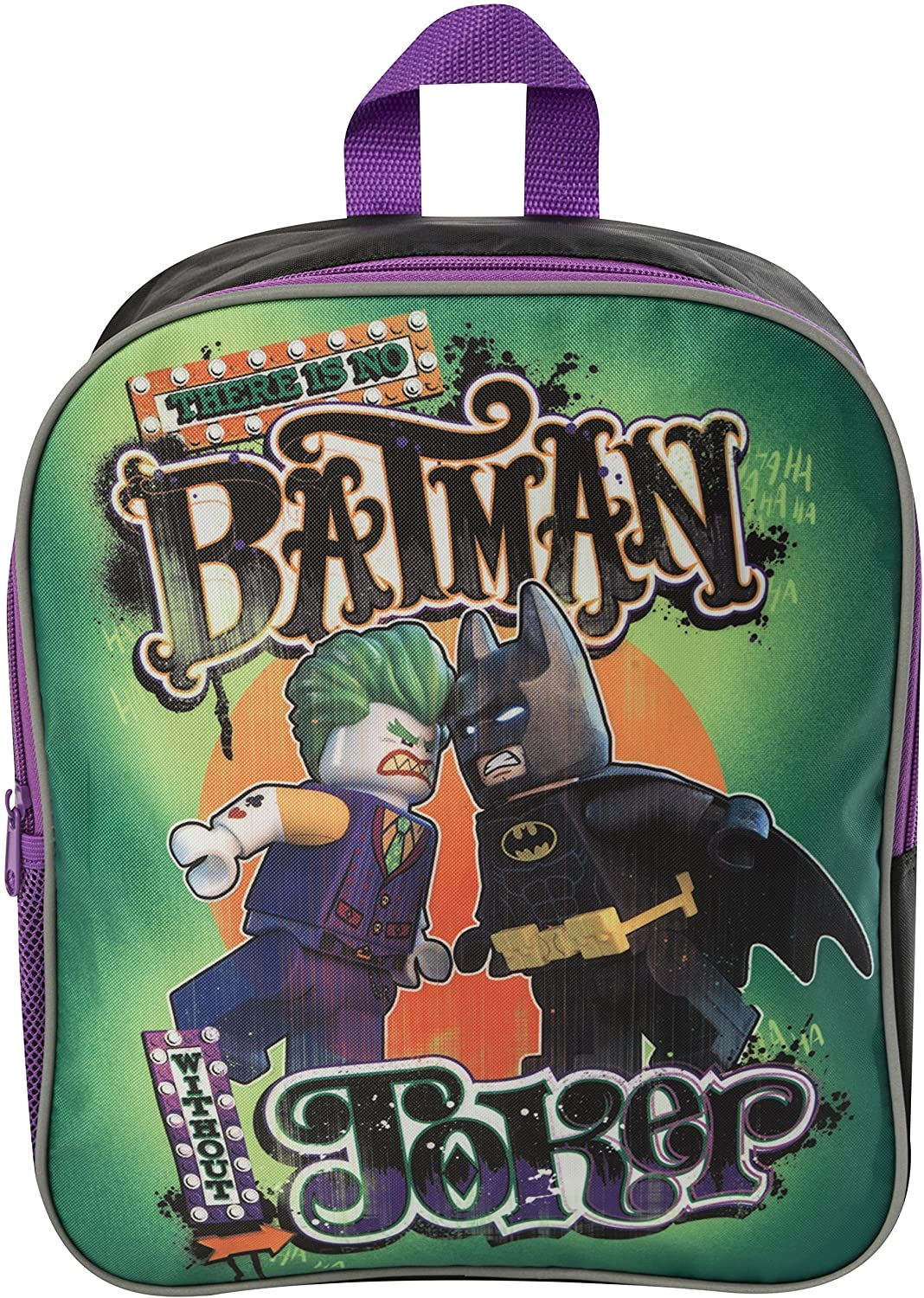 Lego Batman V Lego Joker Backpack