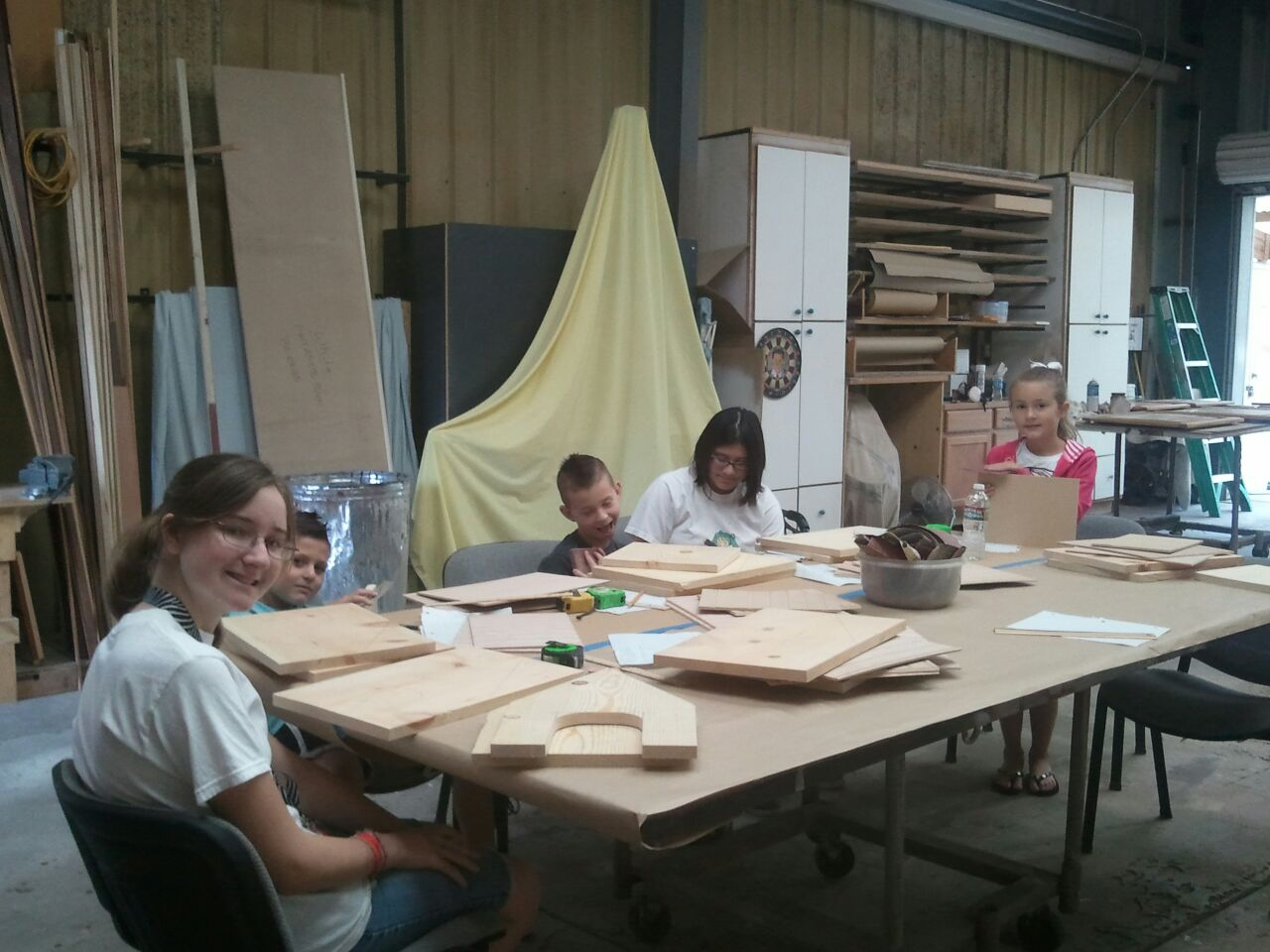woodworking classes this week