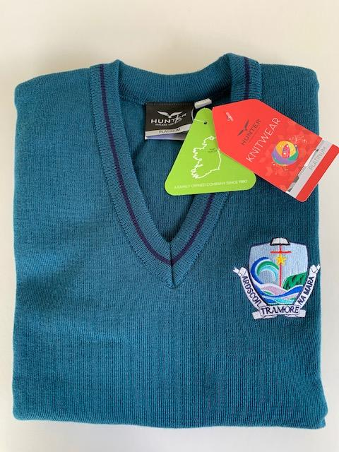 Crested Teal ANM Jumper 1st - 3rd Yrs (& 6th for 20/21 only)
