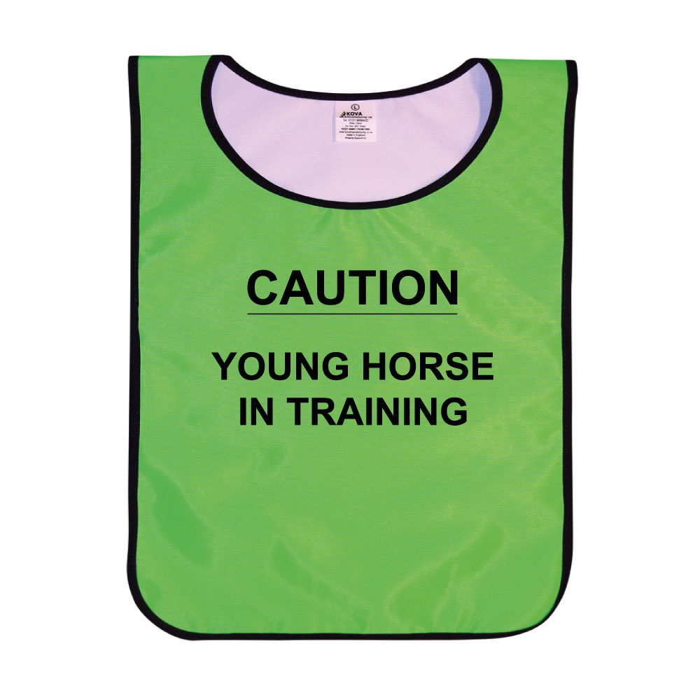 Caution Young Horse In Training Tabards