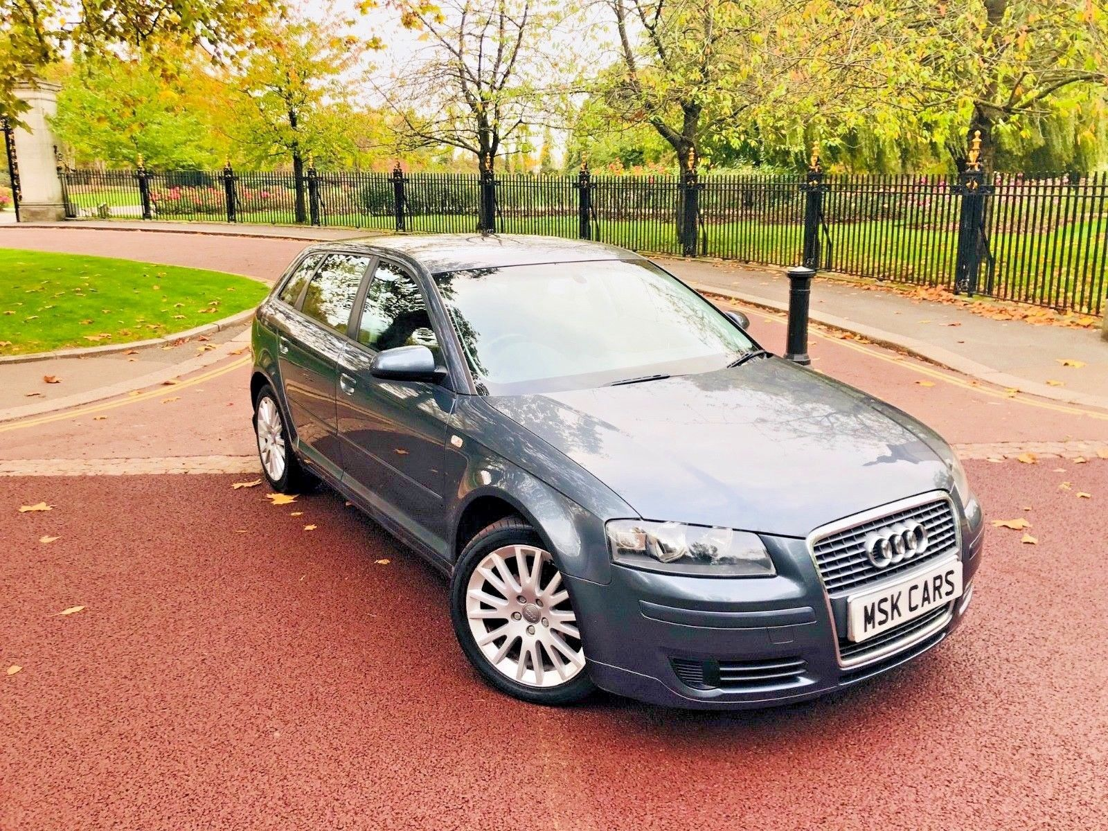 Audi A3 presented in the factory Graphite Grey with an Immaculate Interior 5 door