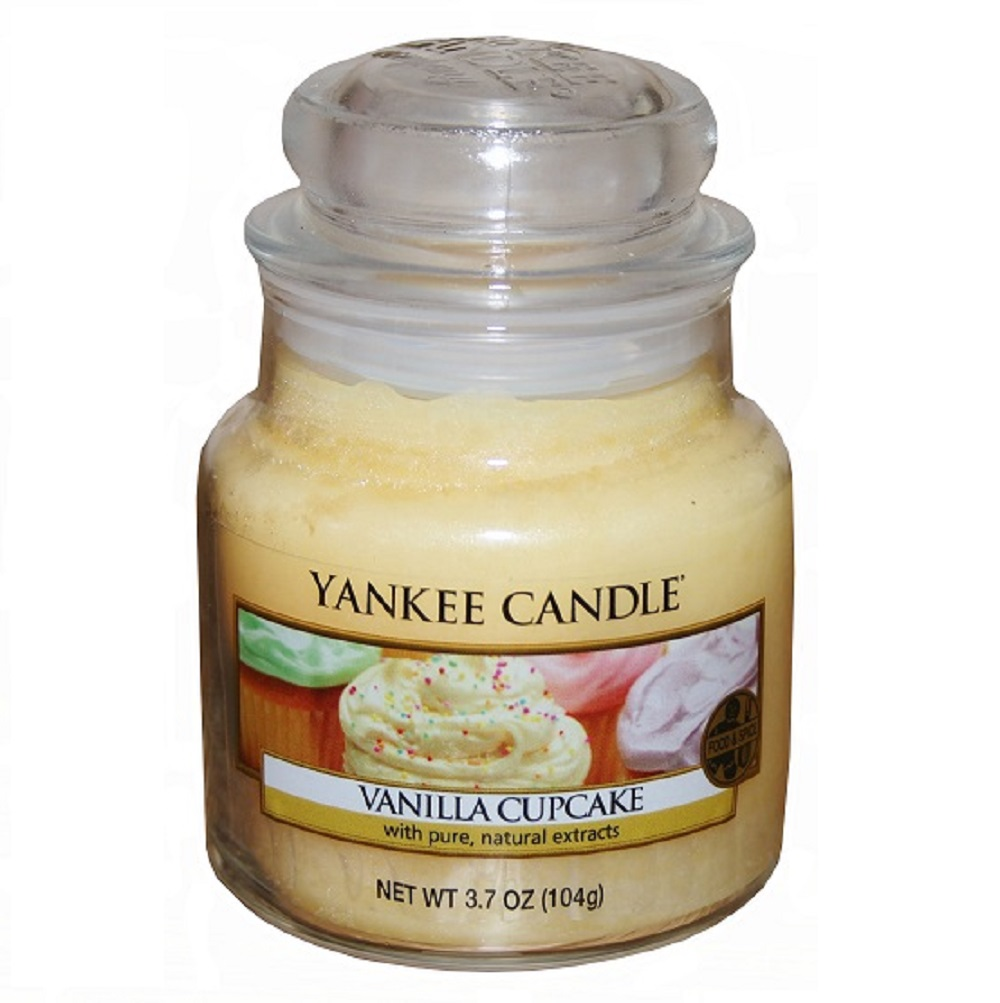 Pamper Me, Gift Basket - with Yankee Candle 'Vanilla Cupcake'