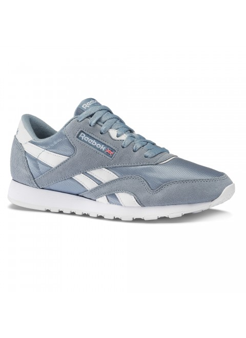 Reebok CL Nylon Rain Drop Blue-White