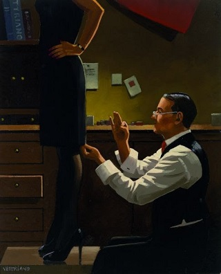 The Devoted Dressmaker Jack Vettriano Limited Edition
