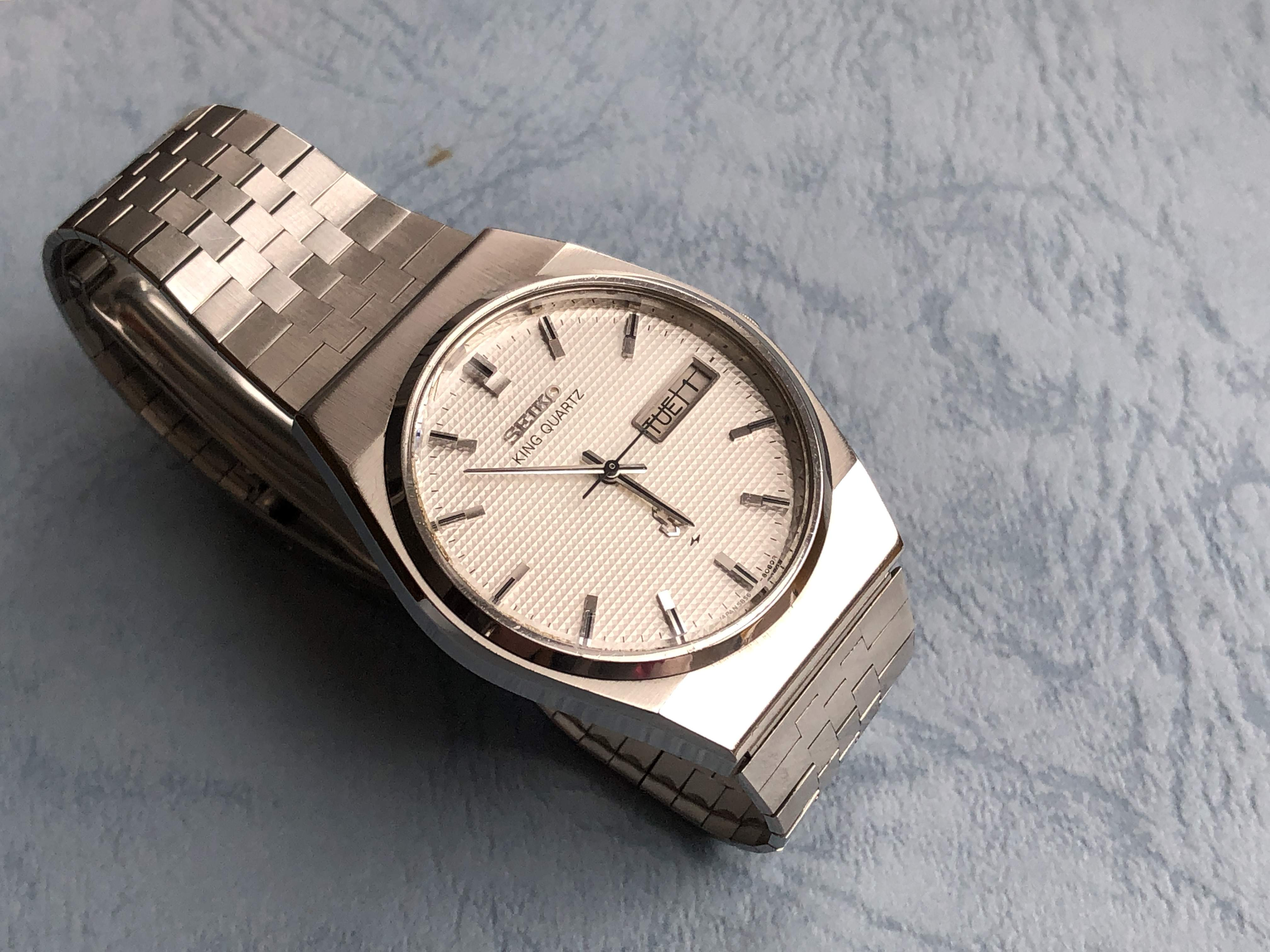 Seiko King Quartz 5856-8070 (Sold)