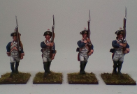 Prussian Musketeers Marching 1792 Valmy