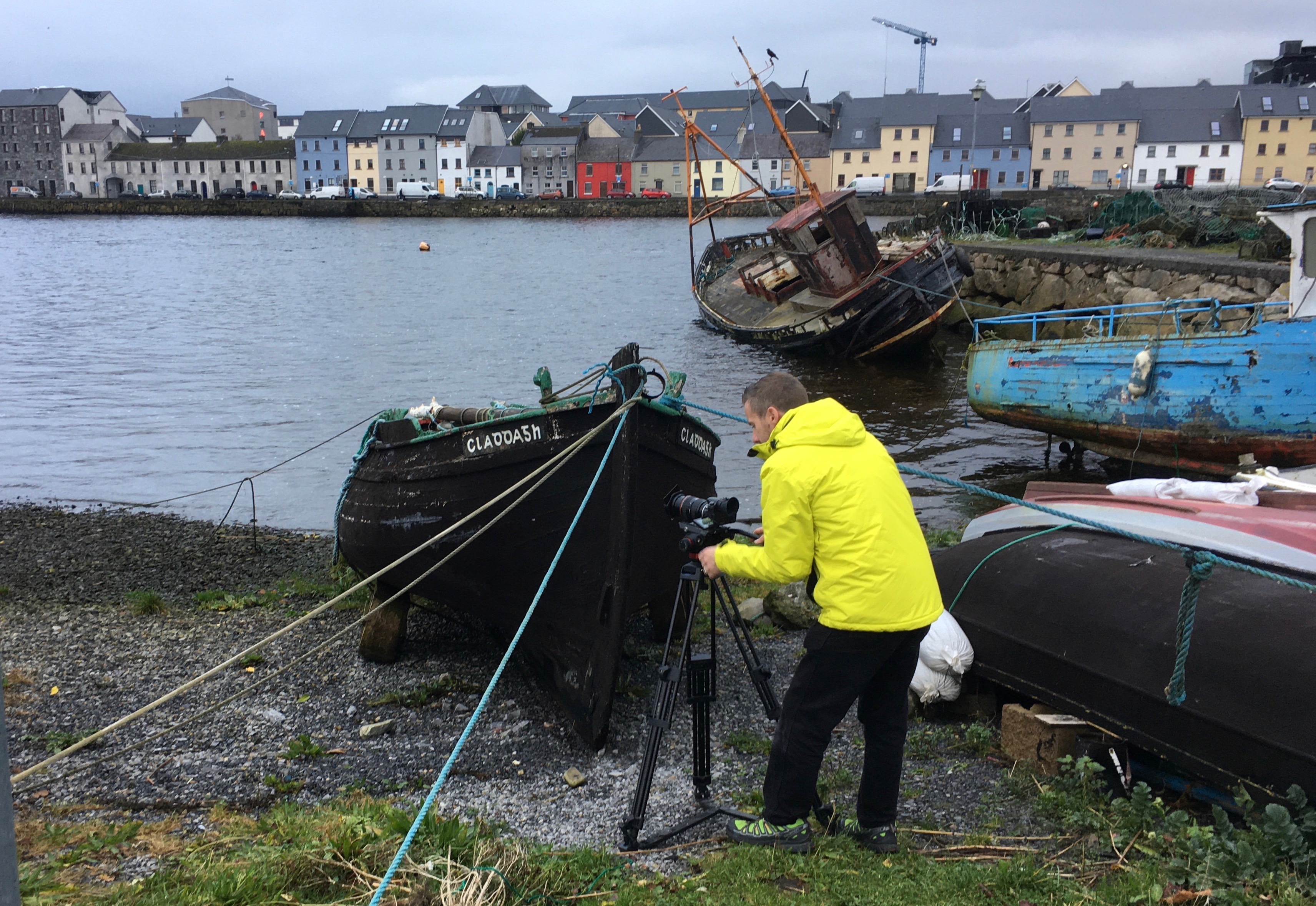 Cameraman Seamurs Callagy at the Claddagh 2jpg