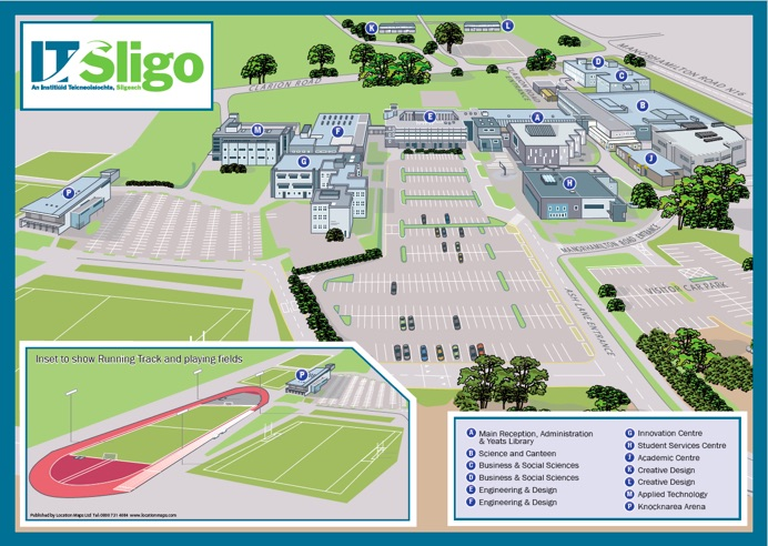 This is where Native Speaker is located on IT Sligo Campus.