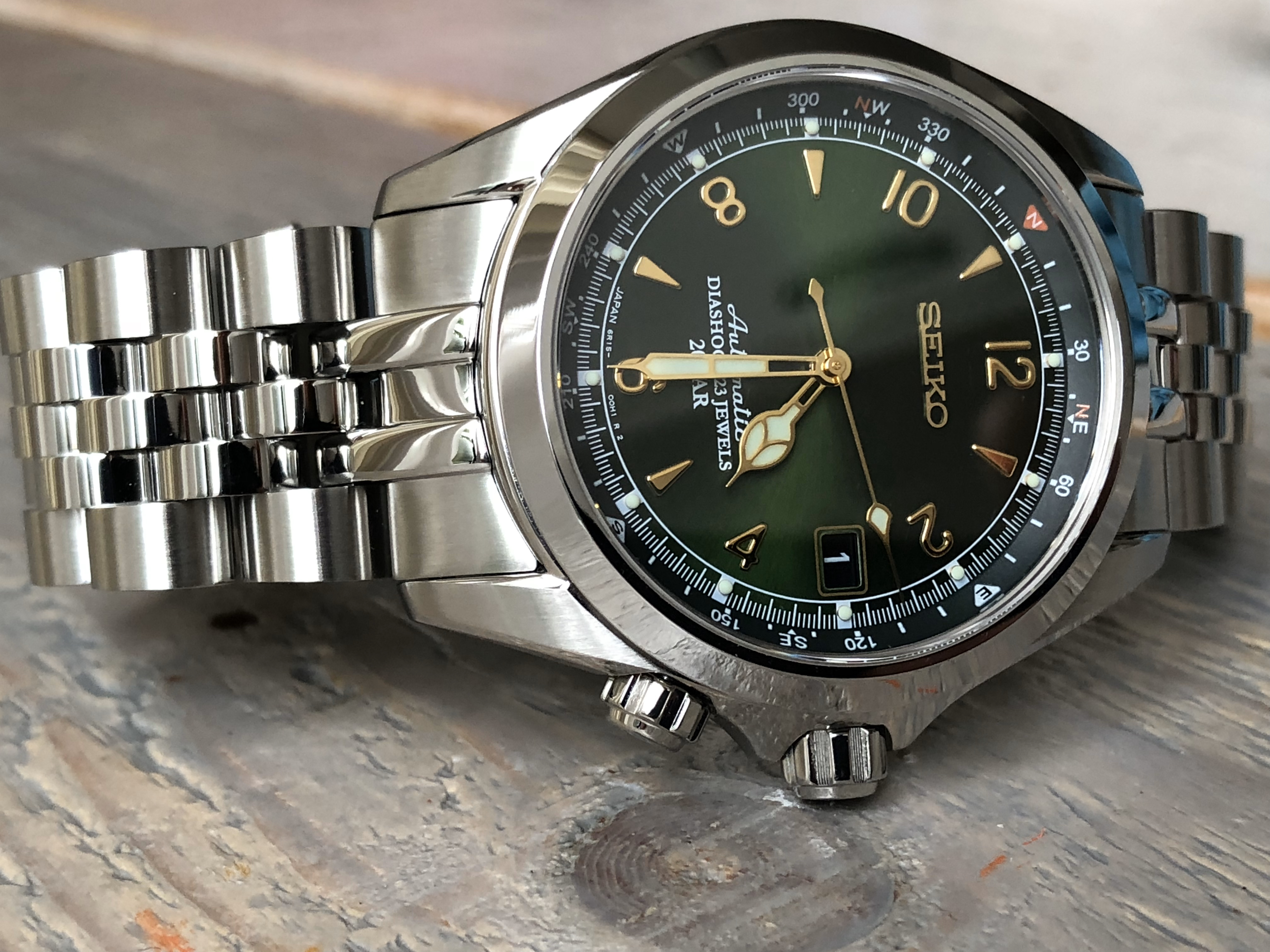 Seiko Alpinist SARB017 -6R15D (For sale)