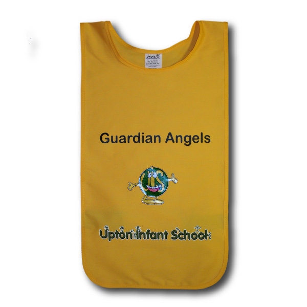 Child's Customised Tabards With School Logo And Text