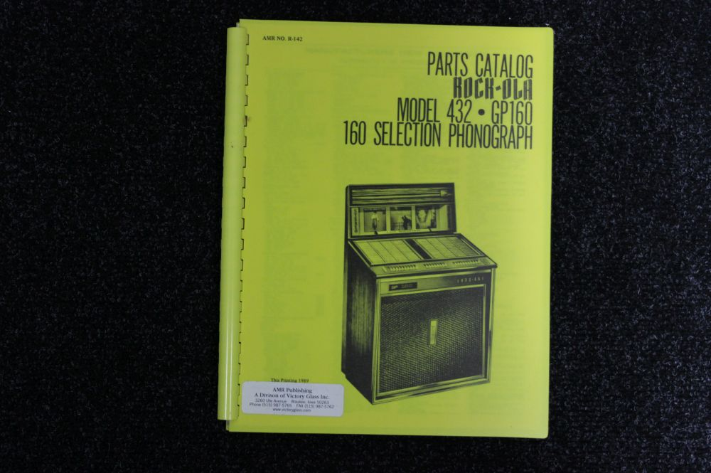 Rock-Ola Parts Catalog - Model 432