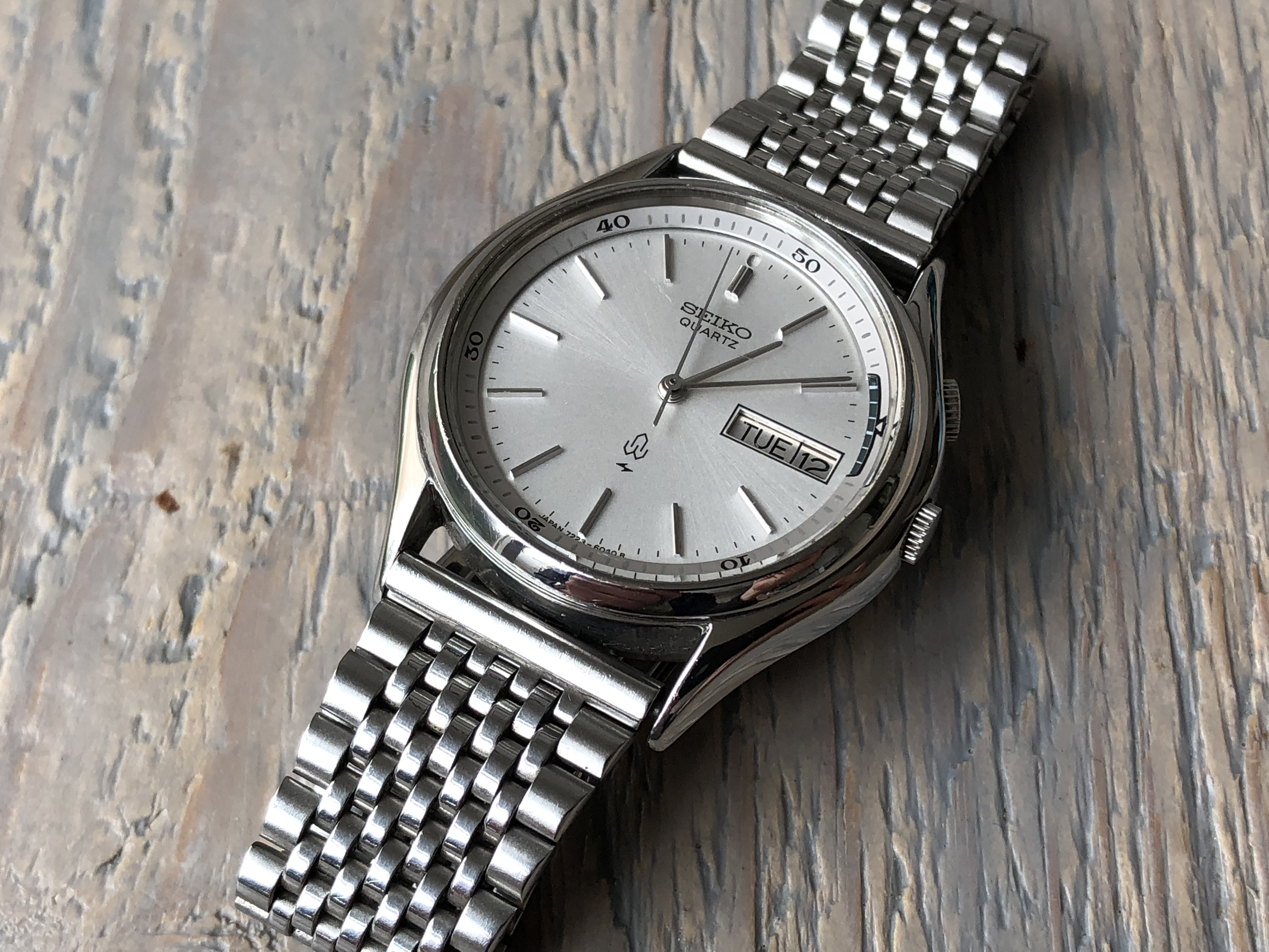 Seiko Alarm Quartz 7223-6040 (Sold)