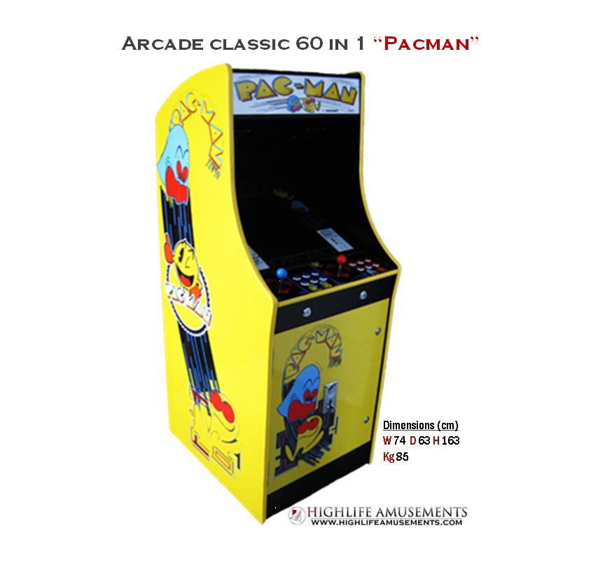 "Classic arcade 60 in 1 ""Pacman edition"""
