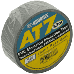 Grey PVC tape 50mm Advance AT7