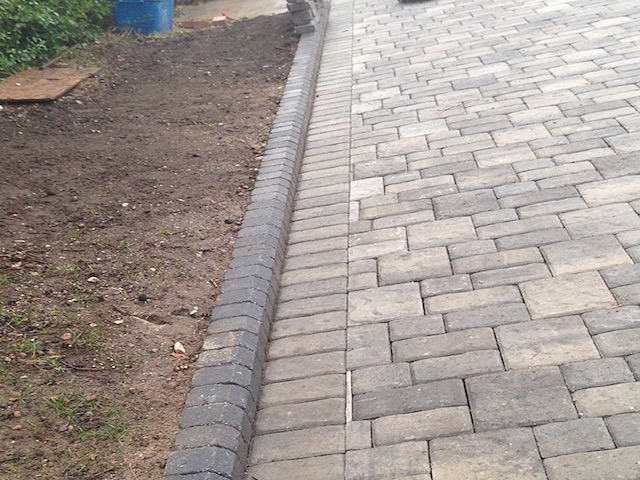West Byfleet block paved driveways