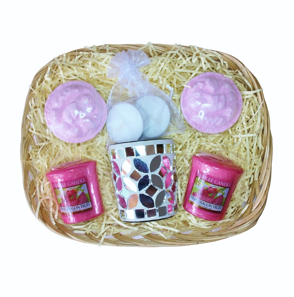 Mosaic Moments, Gift Basket - Pink