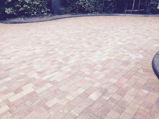 New block paved drives Englefield Green