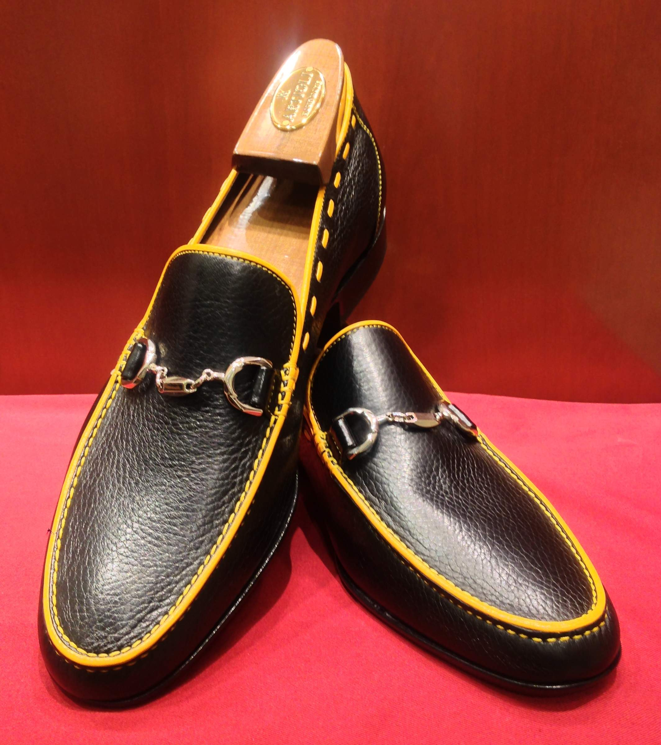 Loafer Model 638 Black & Yellow