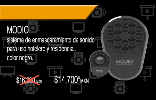 Sound Masking System - Modio