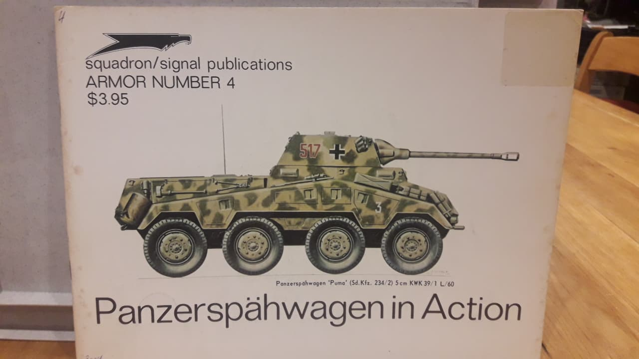 Panzerspahwagen  in action / squadron/signal publications