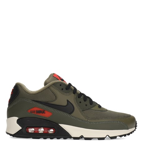 Nike Air Max 90 Olive Green-Black-Orange