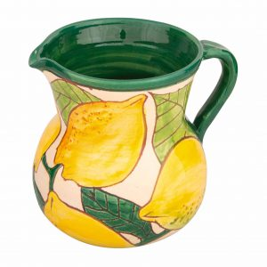 Small Jug lemons design  Spanish Ceramics
