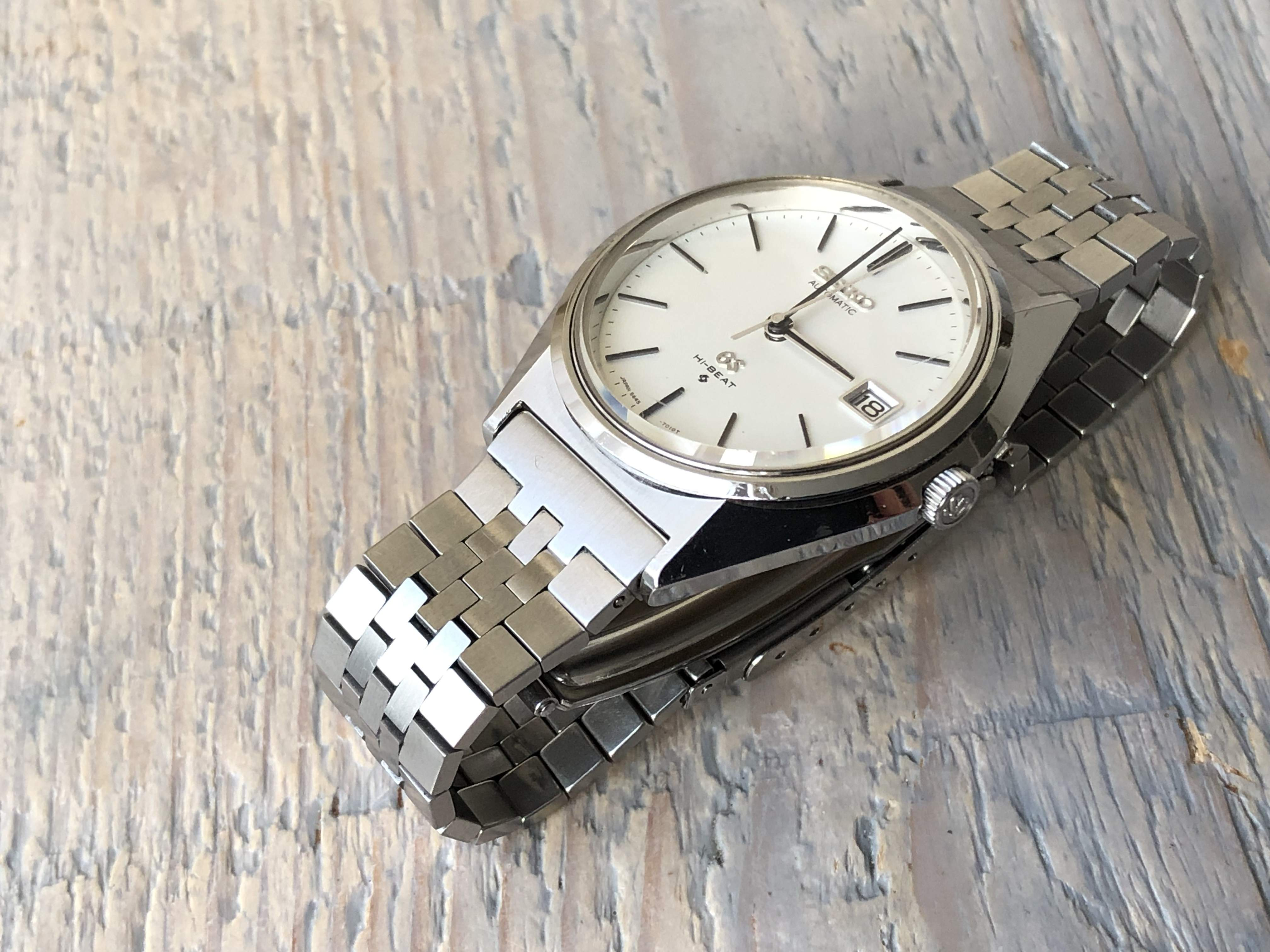 Grand Seiko 5645-7010 with original bracelet XQB070 (Sold)