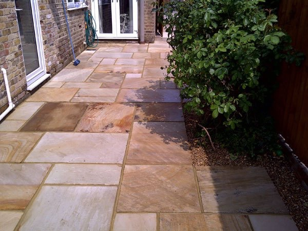 New patio in Ashford, Middlesex