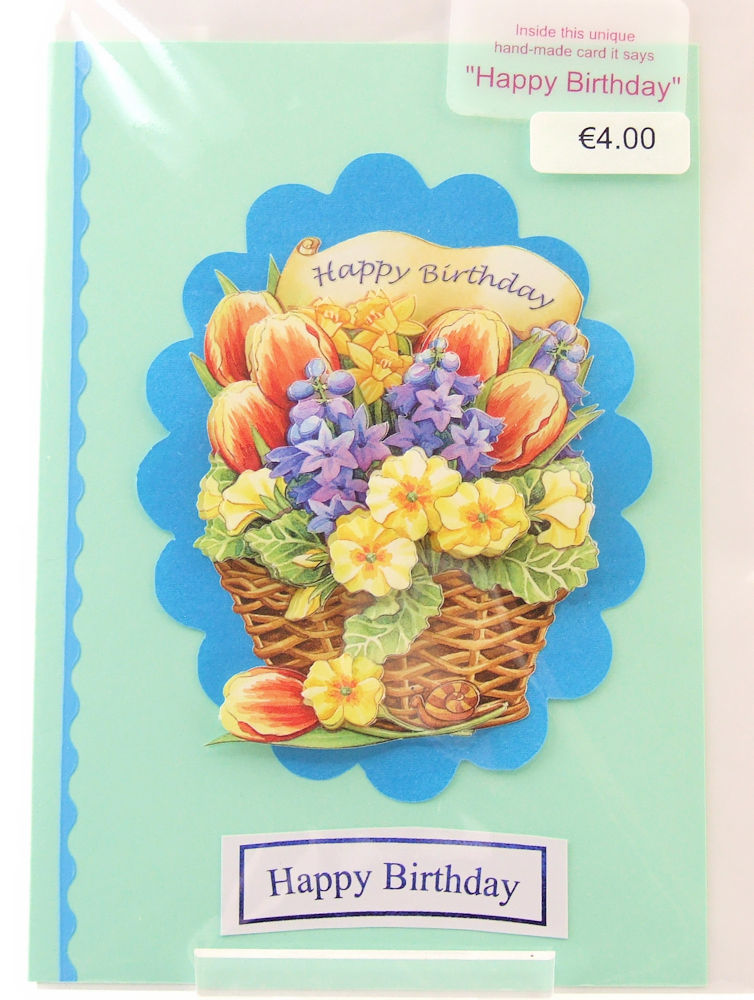 Handmade 'Happy Birthday' Card - 22