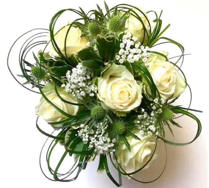 Wedding flowers from Willow Florists Kirkcudbright