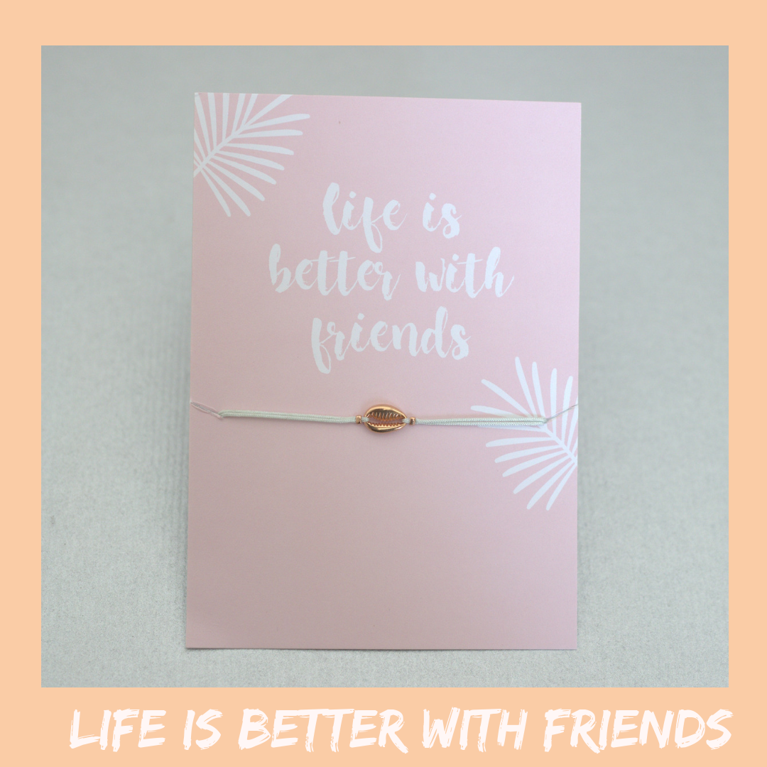 Bracelet Card - Gift Card & Bracelet - Friendship