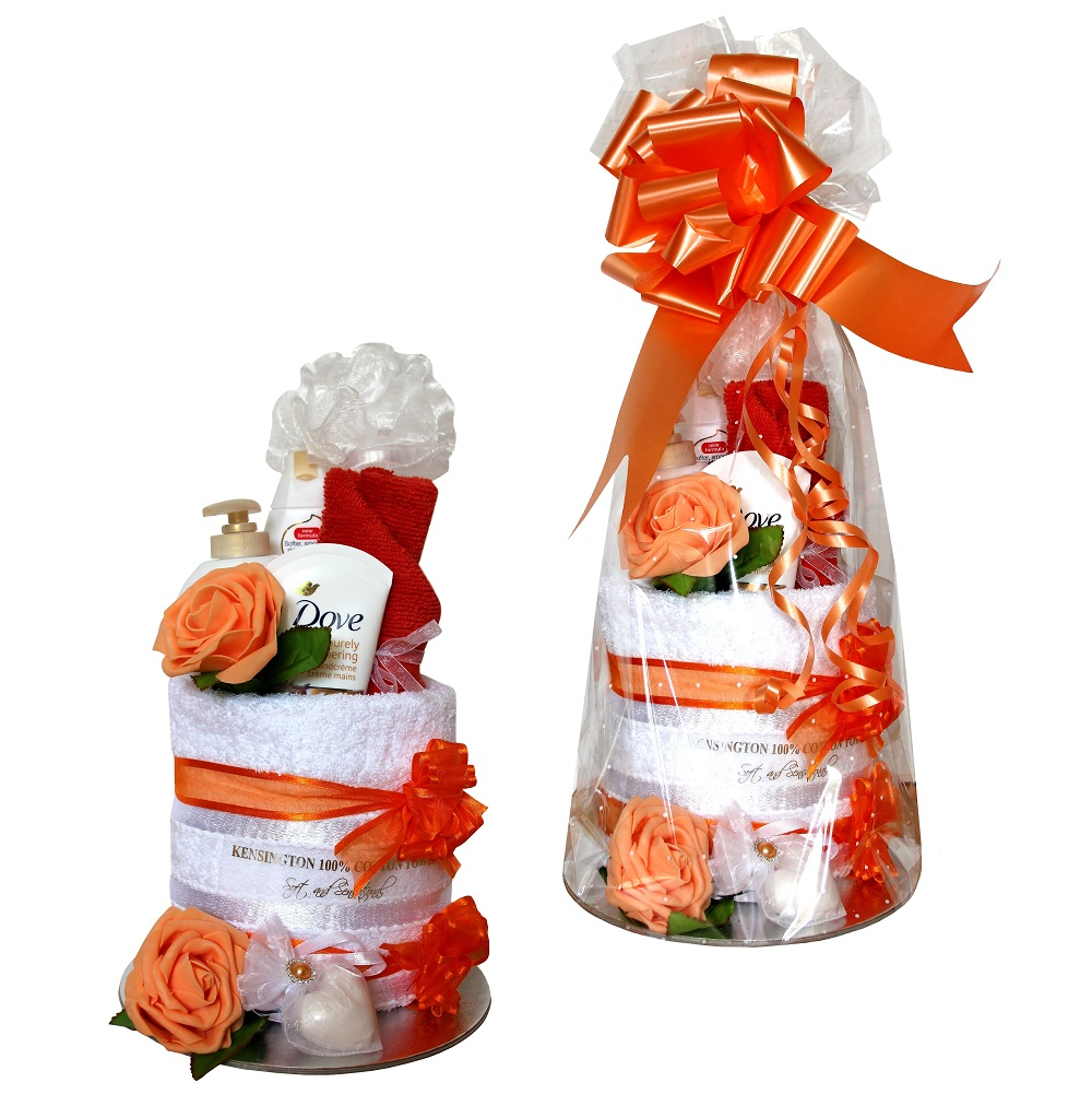 Pamper Wrap - Orange