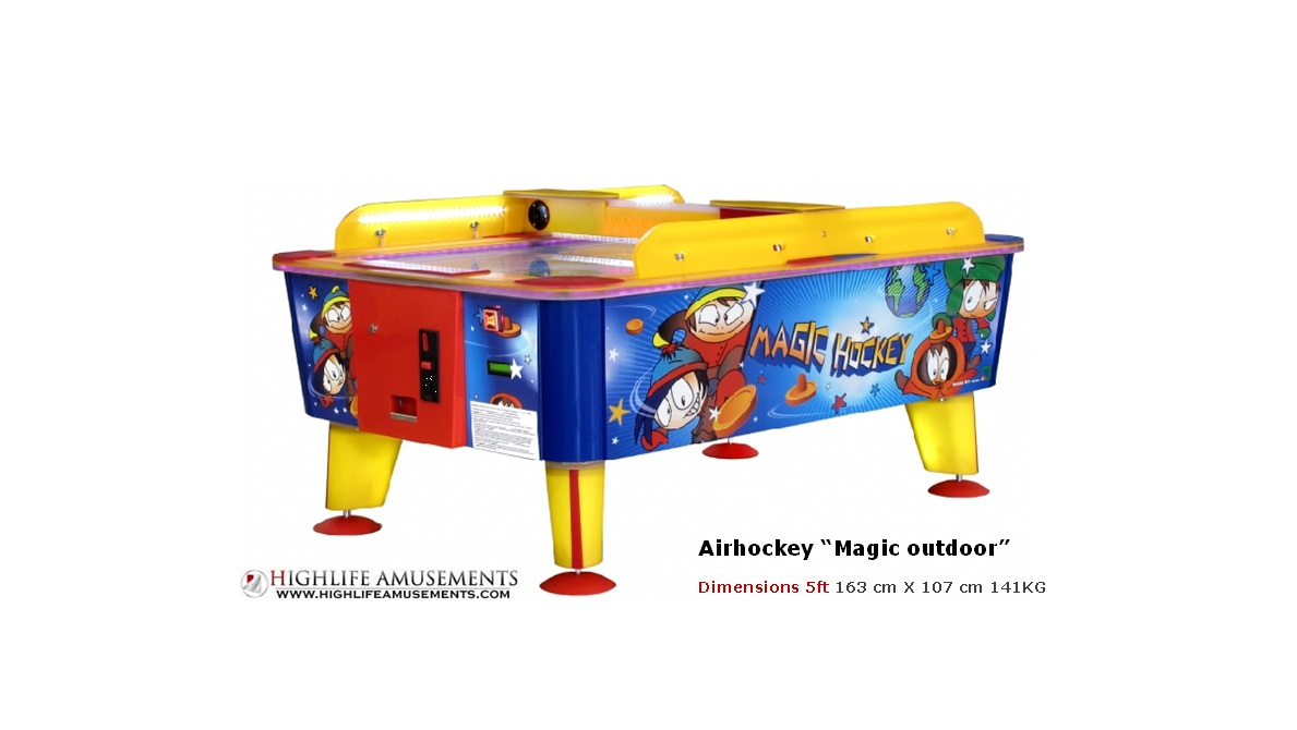 "Airhockey kids ""magic outdoor"""