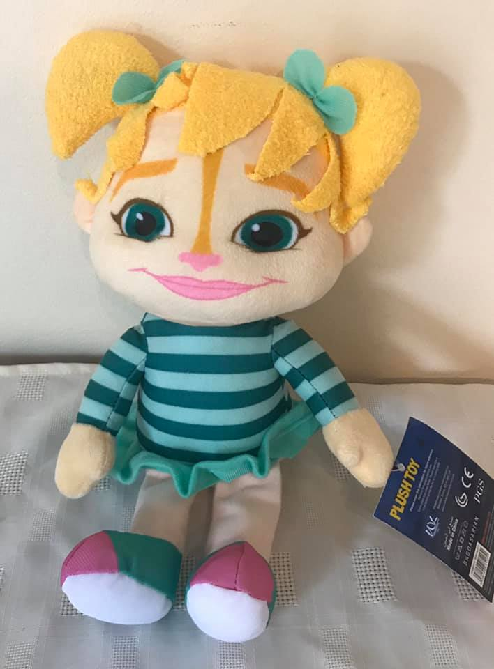 "Eleanor from the Chipmunks 11"" Plush"