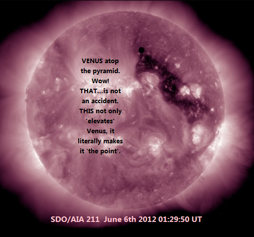 Venus Transit_Venus IS the Point!