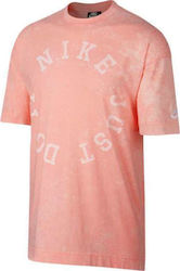 Nike NSW CE Wash Top Pink-White