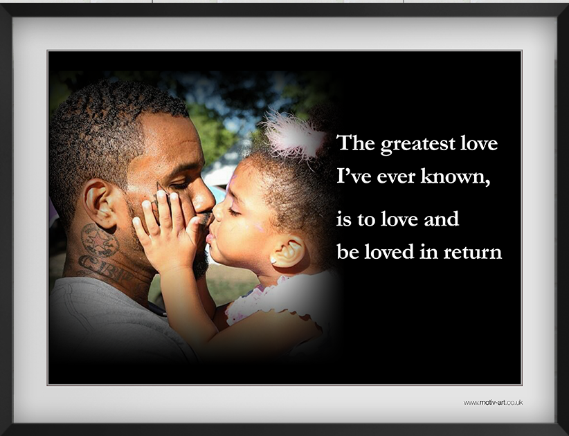 The greatest love...