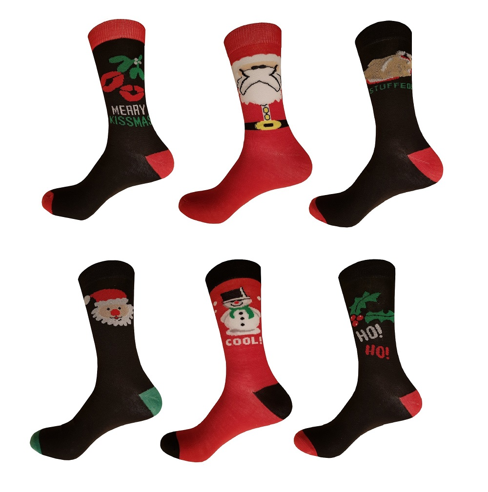 Men's Christmas Socks, Gift Boxed