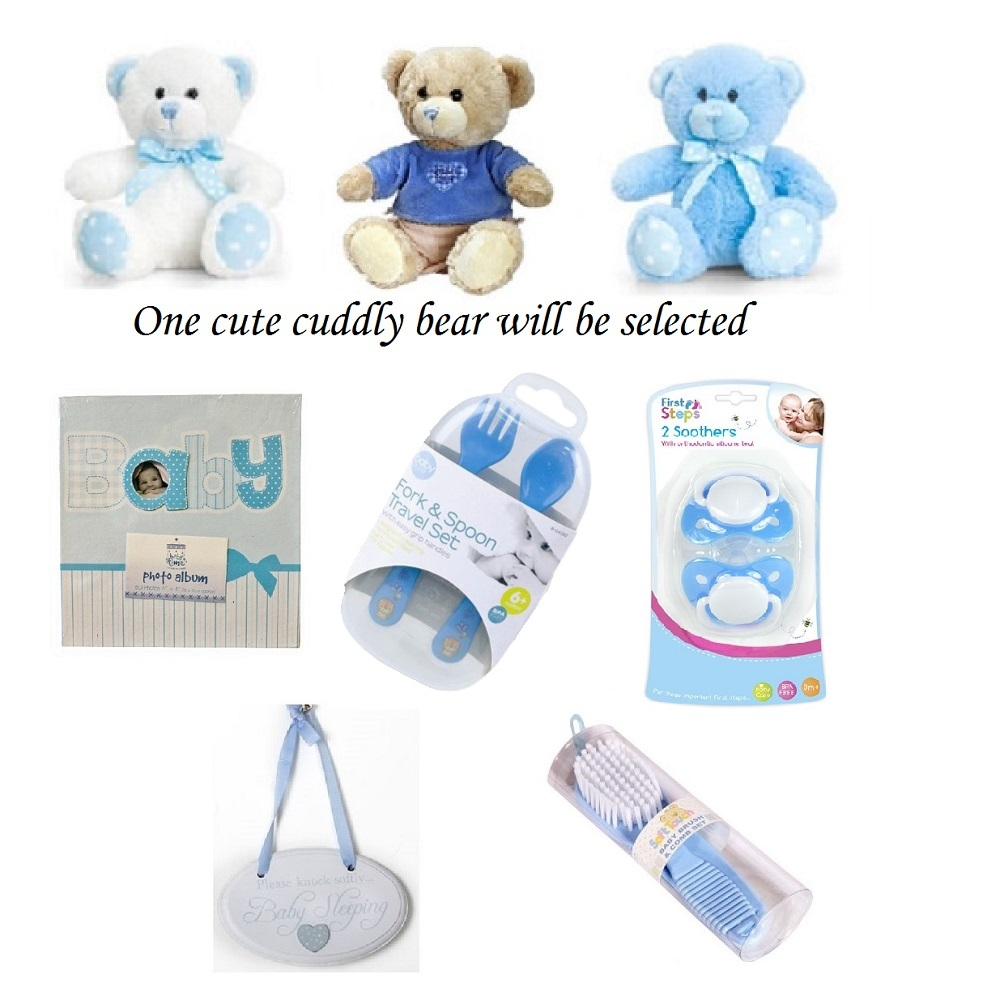 Deluxe Gift Box for a Baby Boy