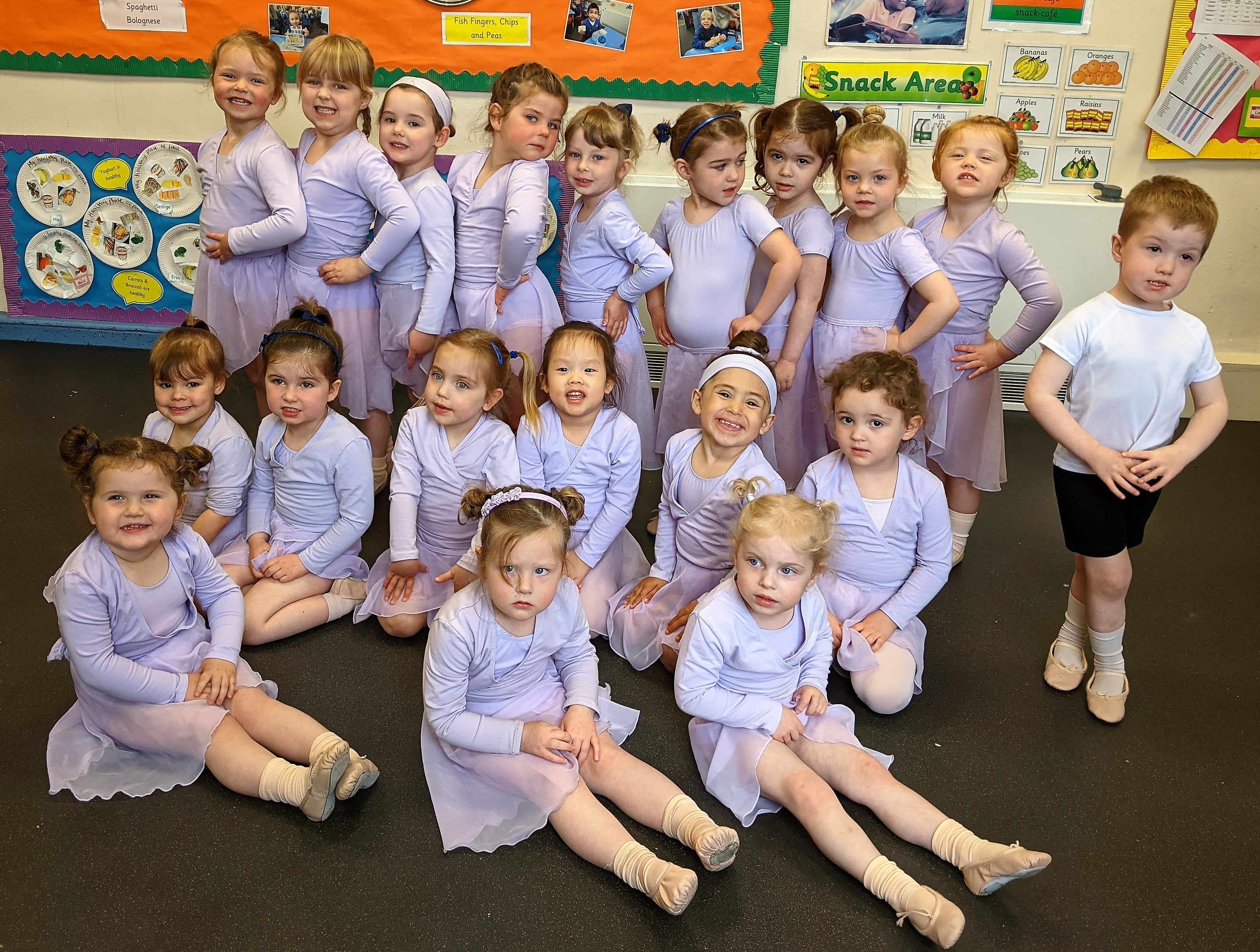 Kidderminster's Little Trinity Nursery Enjoying Some Ballet Fun!
