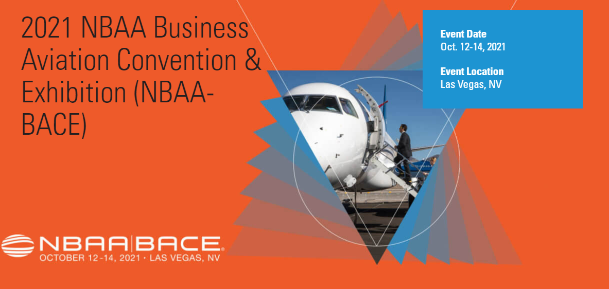 NBAA-BACE 2021 is on as in-person event!