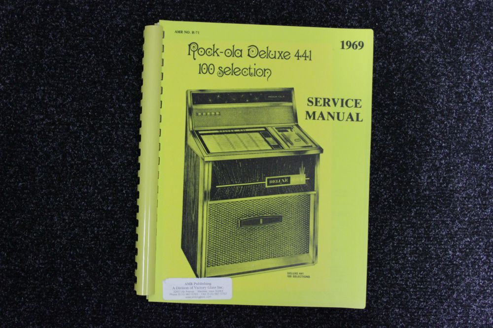 Rock-ola - Service Manual - Model 441 Deluxe