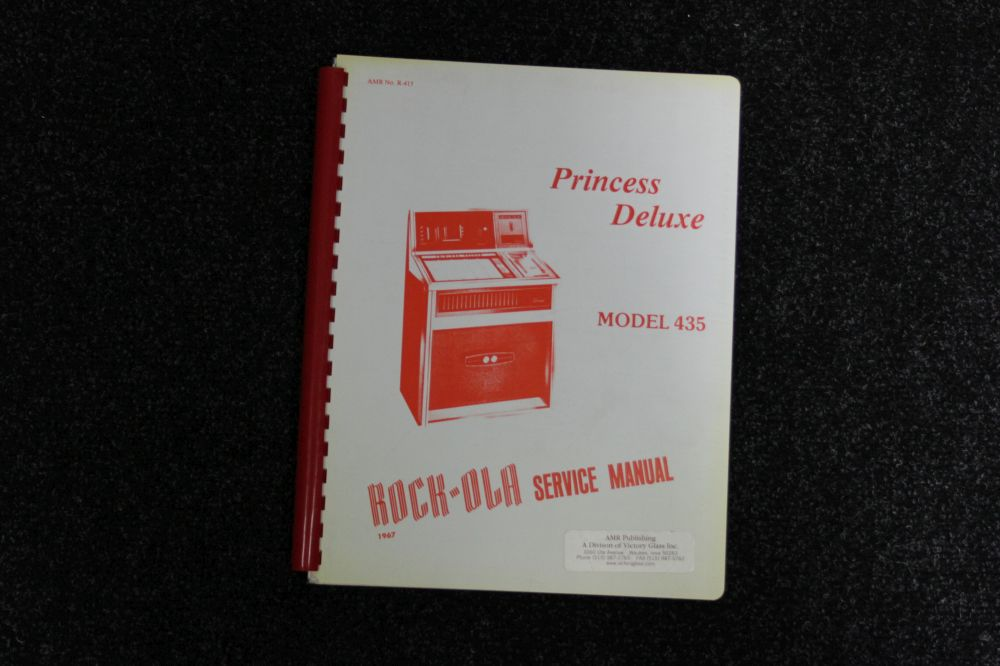 Rock-ola - Service Manual - Model 435