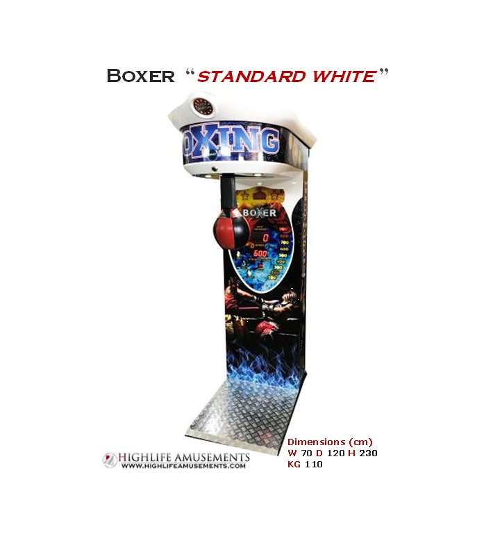 "Rental boxing machine ""Boxer standard"""
